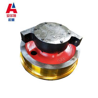 轨道轮子单边 Φ250*90被动车轮组 安尔特行车车轮材质