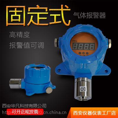 西安华凡HFT-H2S工业隧道隔爆固定式硫化氢气体传感器探头