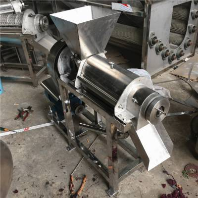 鲜果汁加工不锈钢榨汁机 多功能蔬菜水果榨汁机定做批发