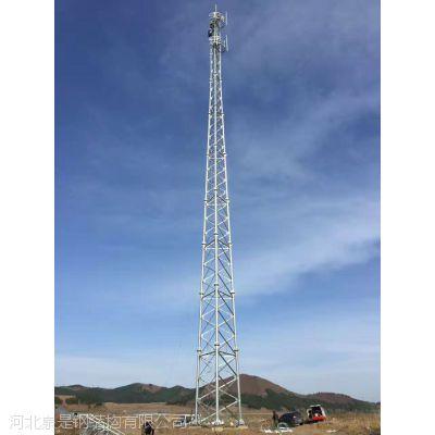 供应通信角钢塔三管塔铁路四柱铁塔