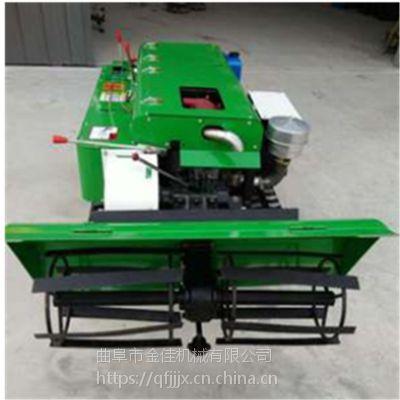 果园施肥开沟机 金佳机械履带自走式除草机 5种功能果园旋耕开沟机