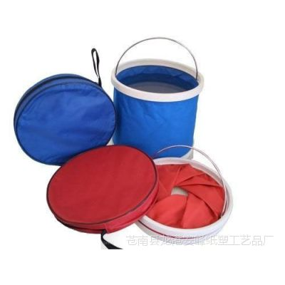 折叠车载水桶 美术用品 多功能户外洗笔桶 广告礼品 钓鱼桶定做