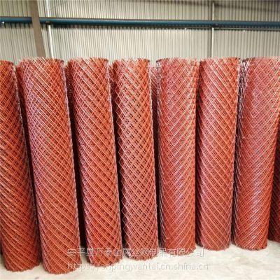 江苏建筑钢笆片 菱形拉伸网厂家 工地专用灌浆菱形网
