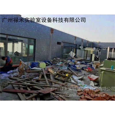 广东加工实验室耐酸碱PP排风管道系统工程