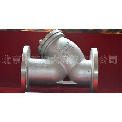 中西(LQS现货)空气过滤器 型号:YF33-SG41H-16C(DN20)库号:M121240