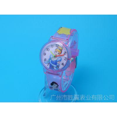 供应白雪公主 儿童手表 女孩手表 学生卡通表 女童正品防水电子表
