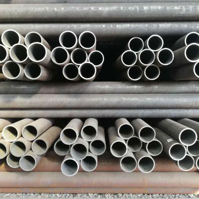 聊城无缝钢管现货供应40crmo377*55无缝钢管可切割
