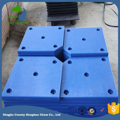 冲击强度高的hdpe护舷板贴面板、聚乙烯护舷板