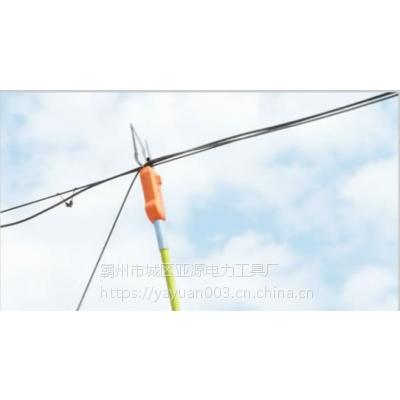亚源智能线缆捆扎机 三代新款防爆材质光缆附挂机 电缆捆线机专用
