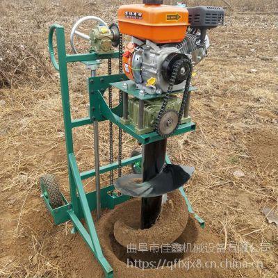 佳鑫wkj-热销小树苗种子挖坑机 山地坡地手推50直径打坑机 电线杆立柱钻眼机质优价廉