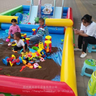 订购室内摆摊沙滩池 小本生意经营沙滩池生意好 拼色鱼池海洋球池套餐哪买