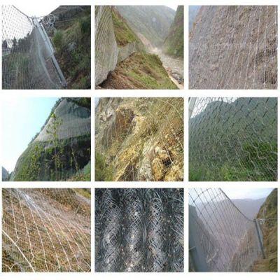 热销(优质)主动拦石防护网|护山边坡防护网_环保耐用