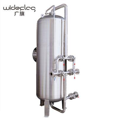 广旗供应海兴县地表水过滤器 食品厂加工用水山泉水机械过滤器