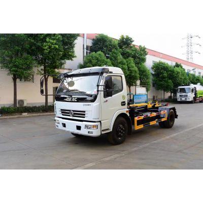 国五6吨拉臂垃圾车厂家价格多少钱