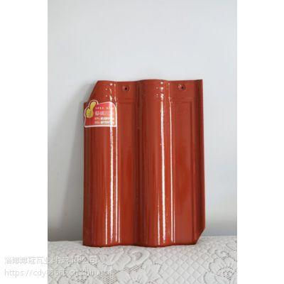 景德镇厂家销售滨州陶瓷瓦青岛西班牙瓦