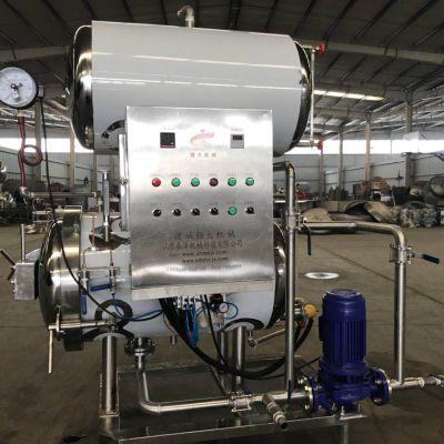 科尔沁生鲜肥牛杀菌设备|水浴杀菌锅 电加热杀菌釜