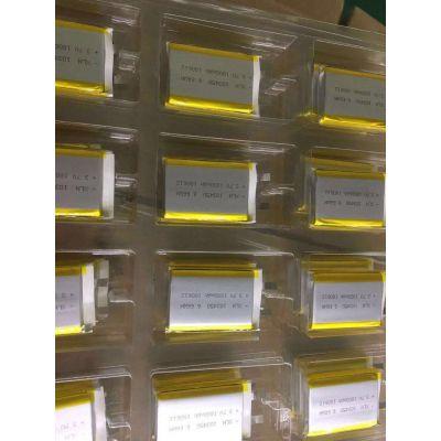 厂家供应KC聚合物锂电池503035 500mAh 美容仪器 韩国KC认证3.7V