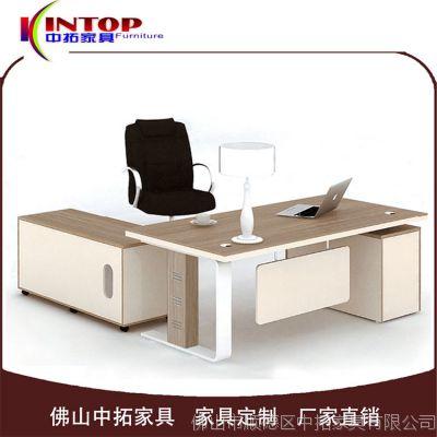 2017新款简约时尚三胺板可定制办公台 经理电脑办公桌工厂热销款