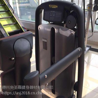 健身房工作室大型单功能不锈钢力量器械蝴蝶夹胸训练器