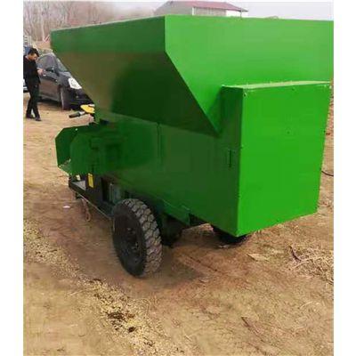 山东生产小型撒料车价格 无噪音小型电动撒料车多少钱
