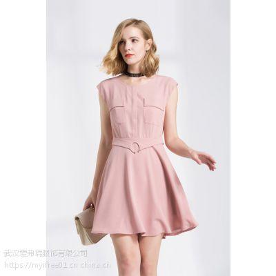 女装尾货什么价斯贤春夏装新款上衣连衣裙