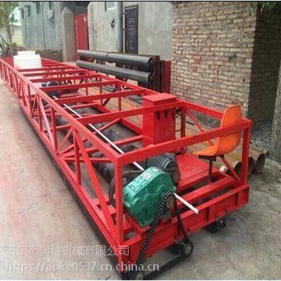 广东惠州电动滚轴式摊铺机 路面摊铺机厂家