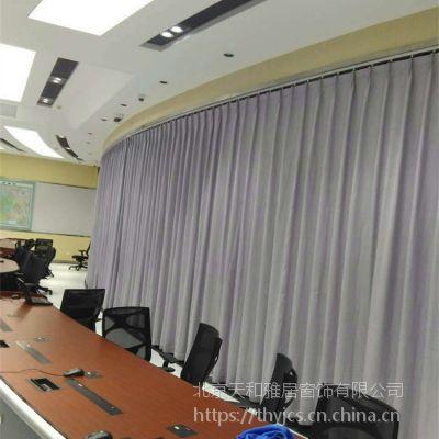 布艺窗帘遮光帘窗帘纱帘定做安装窗帘杆加工窗帘办公卷