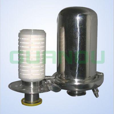 呼吸器滤芯 气体除菌折叠滤芯 PTFE滤芯 5英寸折叠滤芯 纯化水罐发酵罐气体过滤芯