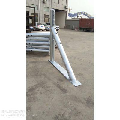 贵州世腾柔性缆索护栏 道路防撞栏厂家直销零售