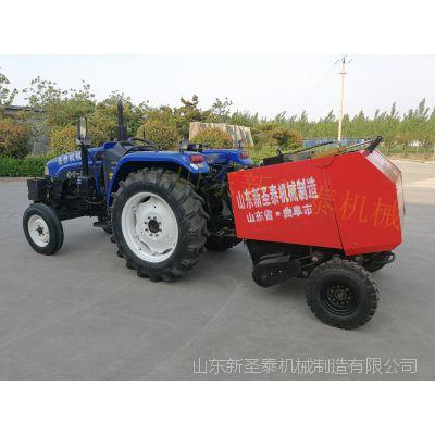 稻草打捆机 捆草机 平凉小型牧草打捆机