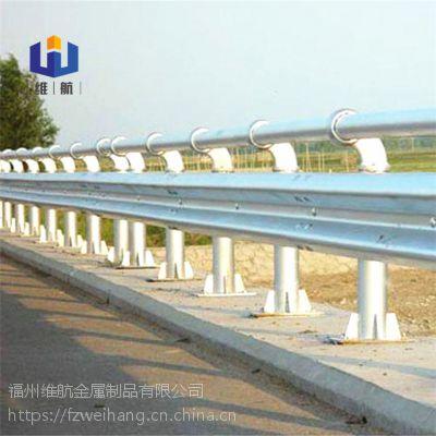 江西赣州公路波形防护栏参数 九江南昌高速防撞栏三波镀锌护栏板价格