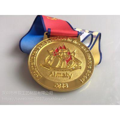 厂家定做金属奖牌,铜镀金烤漆奖牌定制,优秀员工颁奖礼品