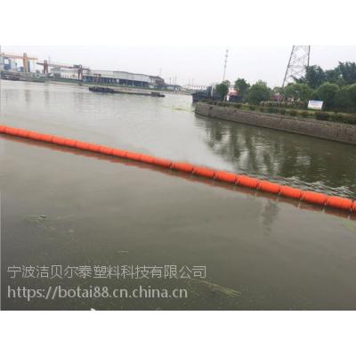 钢丝绳浮式管线拦污排一体式浮筒价格