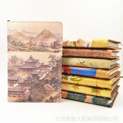 丝绸记事本商务笔记本办公用品随身日记创意手帐记事本子厂家直销