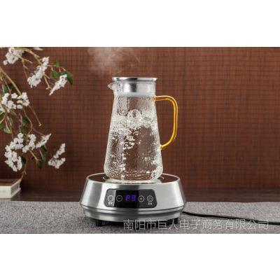 冷水壶家用套装凉水杯耐高温凉茶壶晾白开水玻璃杯盛柠檬泡茶夏季