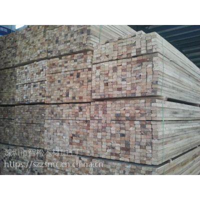 深圳木方加工 工地方木厂家 建筑木材公司