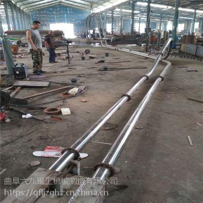 无尘管链提升机非标定制、白糖无尘不锈钢管链输送机