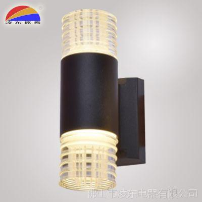 出口铝合金亚克力IP65户外防水双头壁灯AC85V-265VLED 2*6W