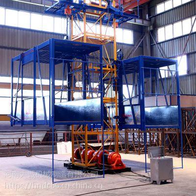 高层货梯垂直运输设备 双笼可独立工作物料提升机