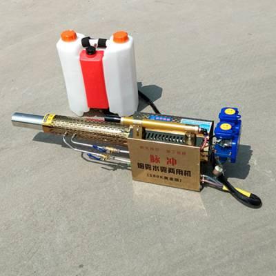麦田汽油动力打药机 脉冲式树林打药弥雾机规格