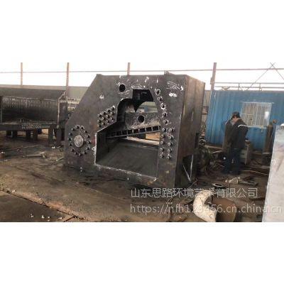 全自动虎头液压剪切机思路液压金属废料剪切机厂家直销600T双龙门切断机视频