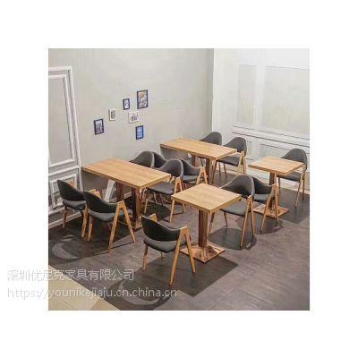 广东省内大型快餐桌椅生产,定制一体化服务厂家