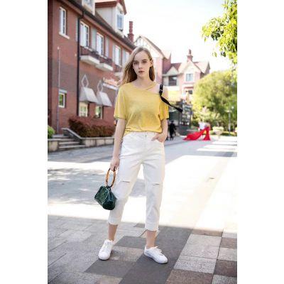 迪思兰柏2019年新款品牌女装正品专柜尾货库存折扣批发一手连衣裙