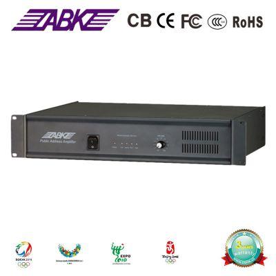 欧比克 ABK ET5004 纯后级定压功放 功率650W