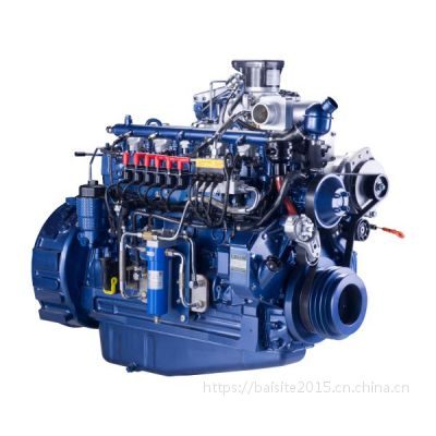 155kW潍柴WP7NG210E40燃气发动机 卡车用天然气LNG发动机