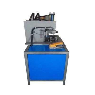 耐景机械供应圆管切90度角机、一次成型切铝型材角机、扁钢切角机