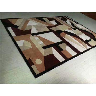 郑州厂家批发手工可定制走廊地毯铺装/客厅卧室茶几酒店地毯