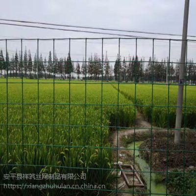 全国批发铁丝网基地 安平养殖围栏网 绿色荷兰网又称波浪形护栏
