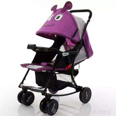 新品上市儿童推车 可摇摆可推可躺 超级多功能推车