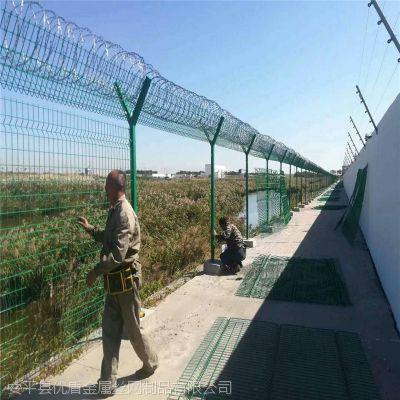 【厂家直供】飞机场围栏网 机场防护网多钱一米-安平县优盾铁丝网